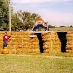 Straw Maze at The Peach Tree Farm in Boonville Missouri